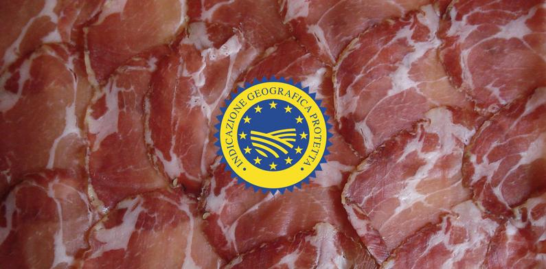 Coppa di Parma: un prodotto IGP
