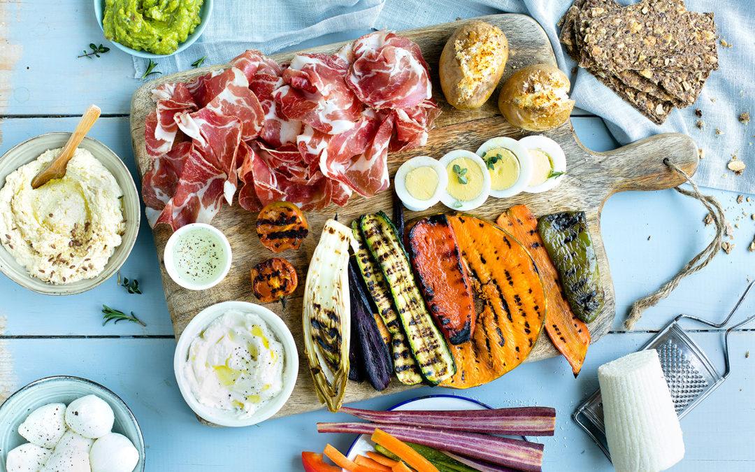 Gran pinzimonio di verdure e Coppa di Parma IGP